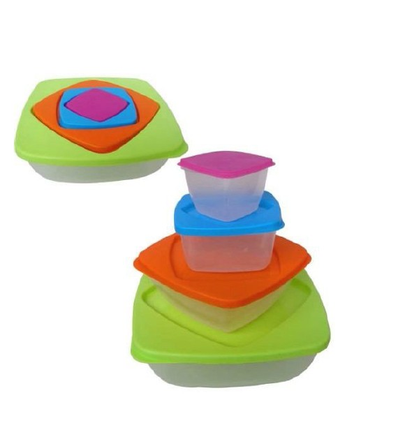 4 set food container