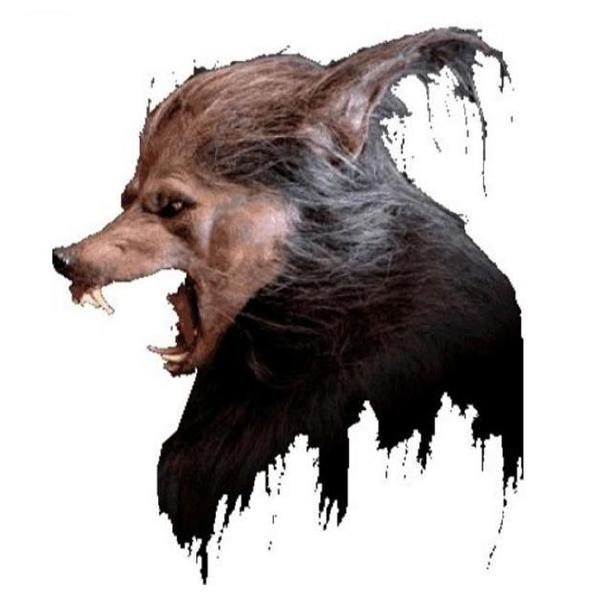 Customized Halloween Wolf Mask