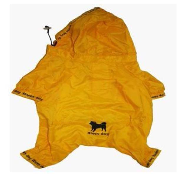 Fashionable Nylon Dog Raincoat