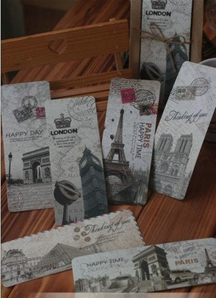 Bookmarks with famous buildings
