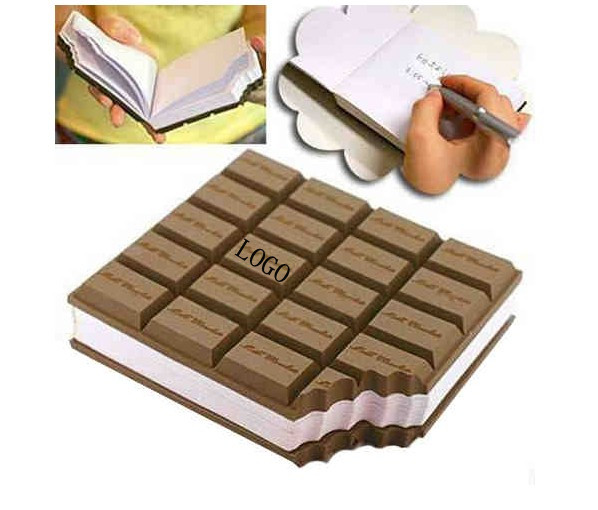 Unique notebook with chocolate smelling