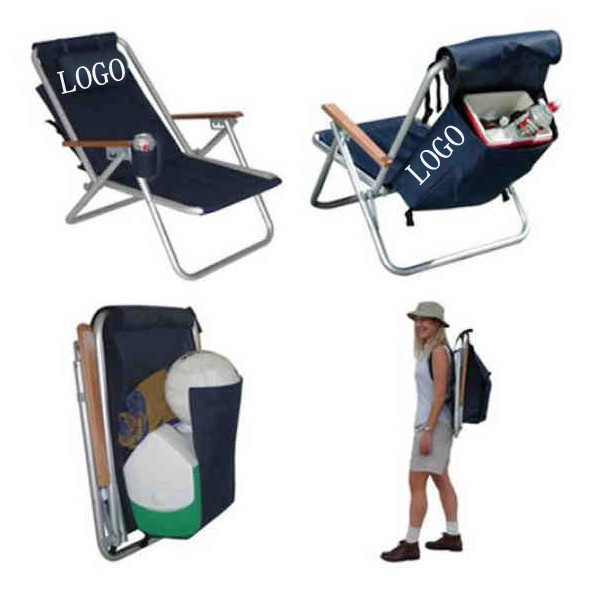 backpack folding beach chair
