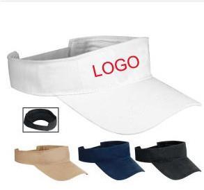 Heavyweight brushed cotton visor