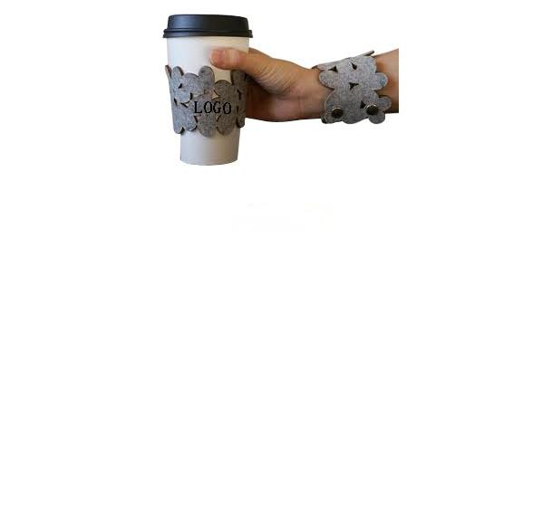 Cup sleeve / bracelet