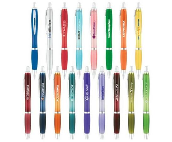 Curvaceous Translucent Gel Ink Pen