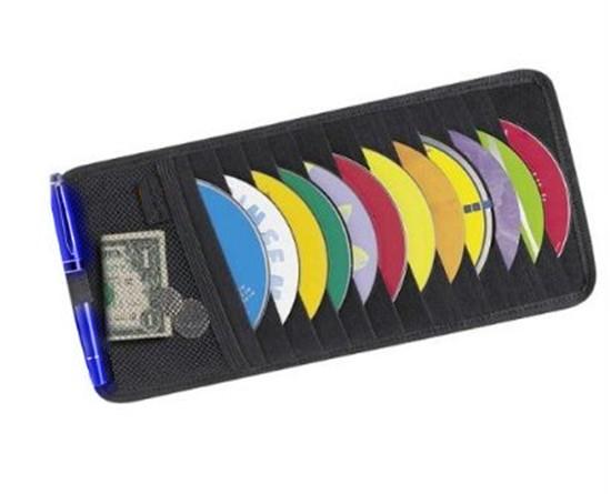 CD case made of neoprene