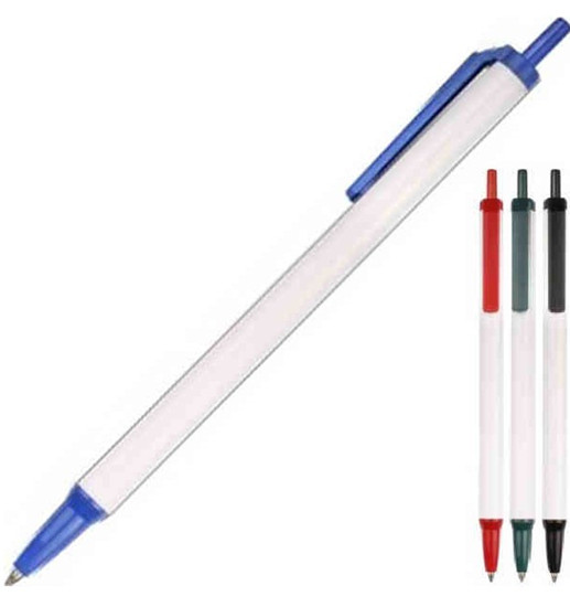 Plastic ink pen