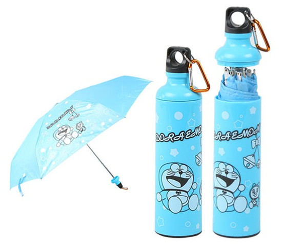 Sports bottle umbrella