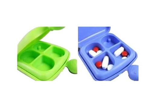 Smile pill box