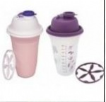 Plastic hand shaker cup