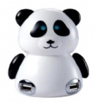 Panda shape usb 4 pot hub
