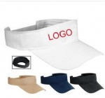 Heavyweight brushed cotton visor