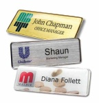 Metal Name Badges