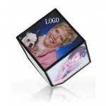 360 degrees Cube rotating photo frame