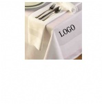 Satin band napkin