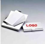 Aluminum business card holder