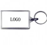Acrylic key tag