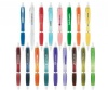 Curvaceous Translucent Gel Ink Pen
