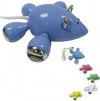 Mouse shape USB hub with four USB interfaces